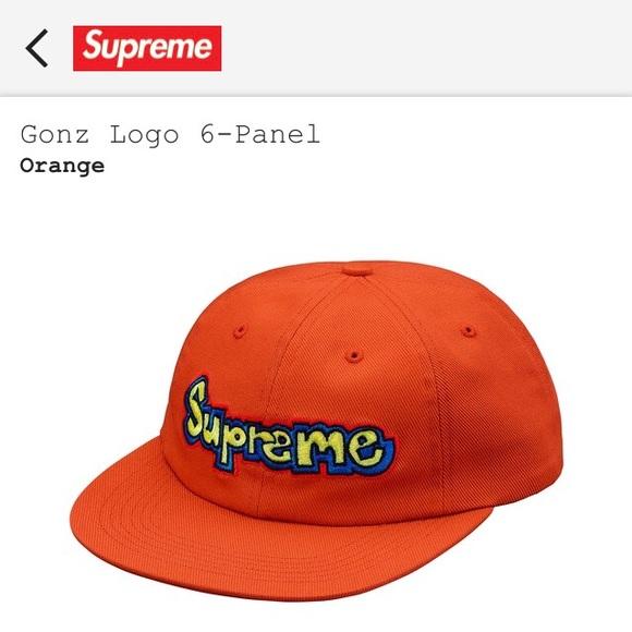 Supreme Gonz Logo Hat - Orange f35b3019864
